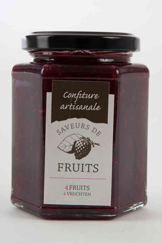Confiture de 4 fruits