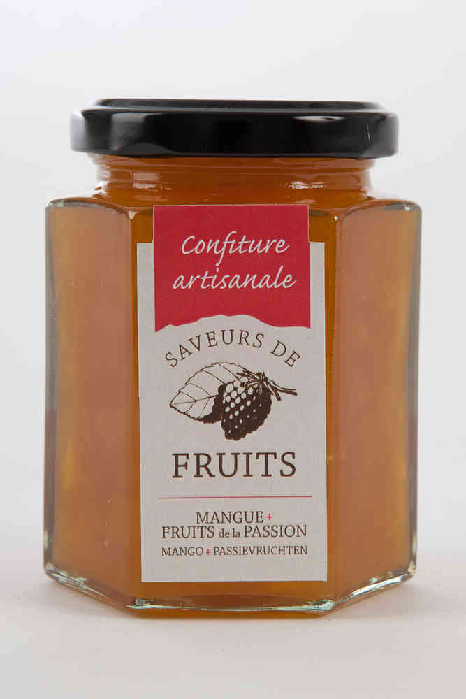Confiture mangues fruits de la passion